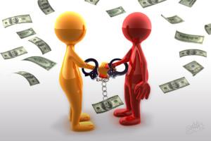 неисполнение обязательств заемщика-должника
