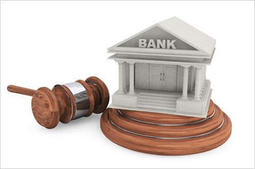 Подать в суд на банк