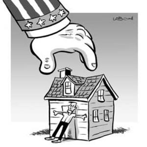 Порядок конфискации имущества в счет долга